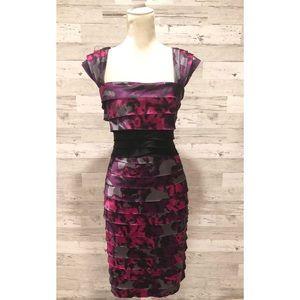 Jones New York Printed Sheath Dress